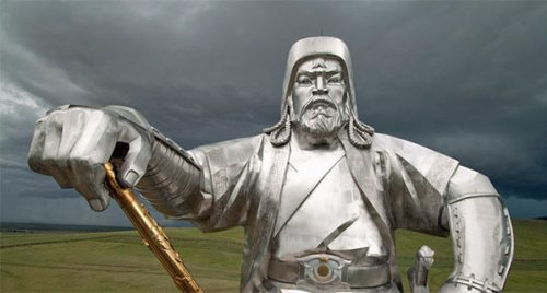 Giant statue of Chinggis Khan